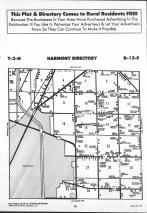 Harmony T3N-R13E, Rock County 1990 Published by Farm and Home Publishers, LTD